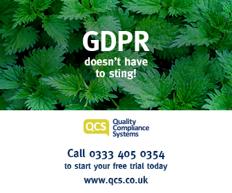 QCS advert GDPR doesn't have to sting