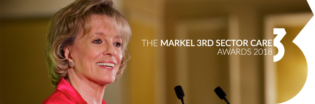 Dame Esther Rantzen host of The Markel 3rd Sector Care Awards
