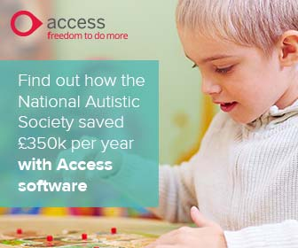 Access UK banner ad