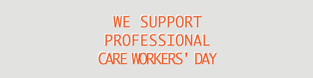 Professional Care Workers Day Banner