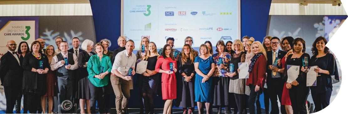 2019 3rd sector winners