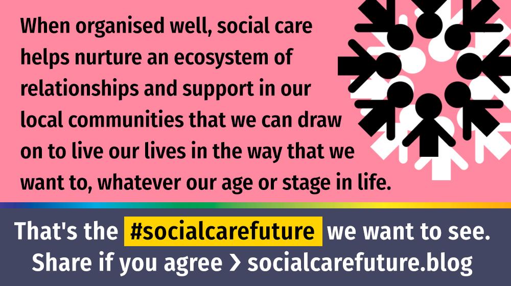 #socialcarefuture quote