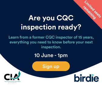 Birdie CQC ready advert