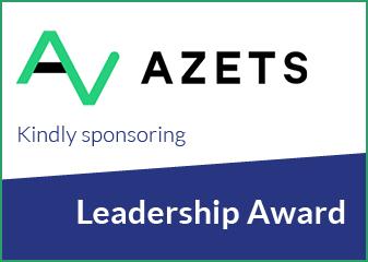 Azets sponsors the leadership award